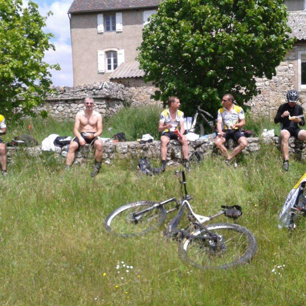 VTT | COSRL | LARDY | CEVENNES 2015| CYCLISTE | REPAS